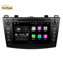 "NaviTopia 8"" 2G+16G Android 7.1 Car DVD GPS for Mazda 3 2009 2010 2011 2012 Auto Car PC Bluetooth Wifi Radio Stereo Navigation(China)"