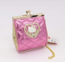 Free shipping Fashion hello kitty purse for girls High quality PU small case coin purse Waterproof