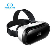 New Magicsee M1 3D Glasses All in one VR Android 5.1 Virtual Reality RK3288 Quad Core 5.5inch VR BOX Glasses 3D Game Movie