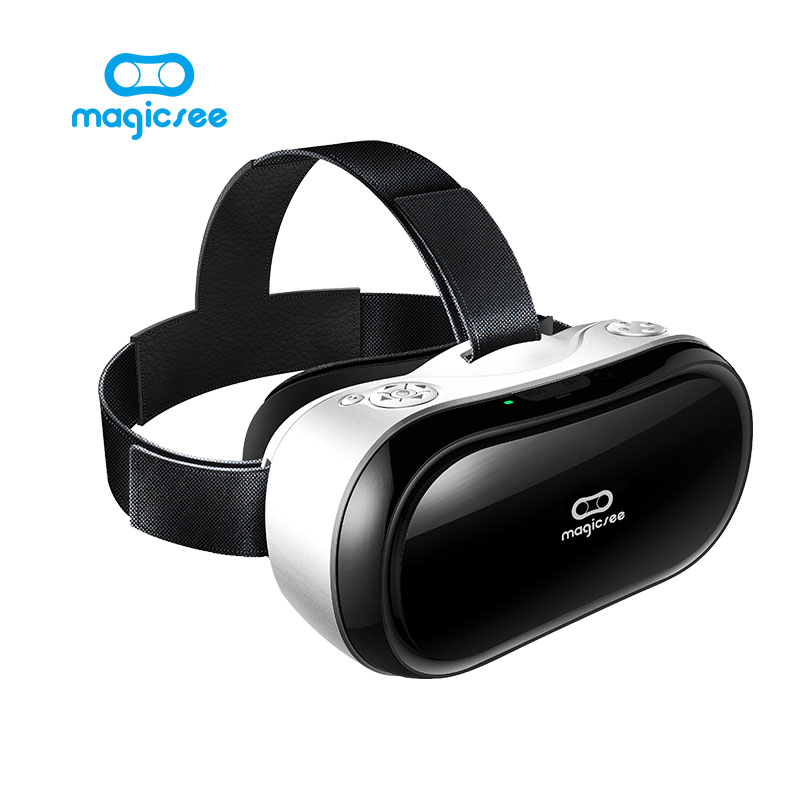 New Magicsee M1 3D Glasses All in one VR Android 5.1 Virtual Reality RK3288 Quad Core 5.5inch VR BOX Glasses 3D Game Movie(China (Mainland))