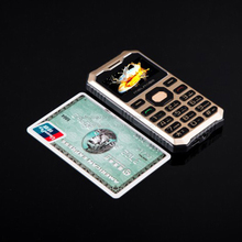 MELROSE C2 bar 1.77 inch CDMA 2000 800 shockproof dustproof MP3 metal dashboard Ultrathin Card Mini Cell Phones(China)