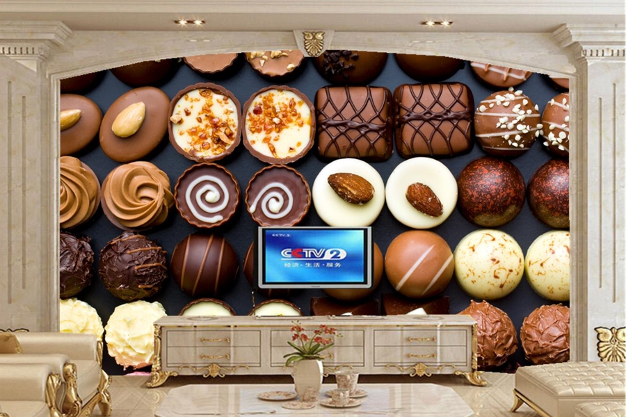 Picture wallpaper,Candy Sweets Many Food wallpapers,restaurant coffee shop dining room living room kitchen tv wall  wallpaper<br>
