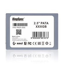 KingSpec 2.5 inch PATA hd ssd 128gb MLC Solid State Disk Flash Hard Drive 120gb IDE HDD Hard Drive PA25-128 > ssd 120gb
