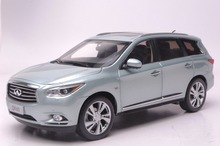 1:18 Scale Diecast Model Car for Infiniti QX60 2014 SUV Blue Alloy Toy Car FX35(China)