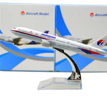 Malaysia Airlines Boeing 777 16cm model airplane kits child Birthday gift plane models toys Christmas gift(China)