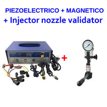 Buy together EP808 professional common rail injector tester for electromagnetic/piezoelectric+S60H fuel nozzle validator tool(China)