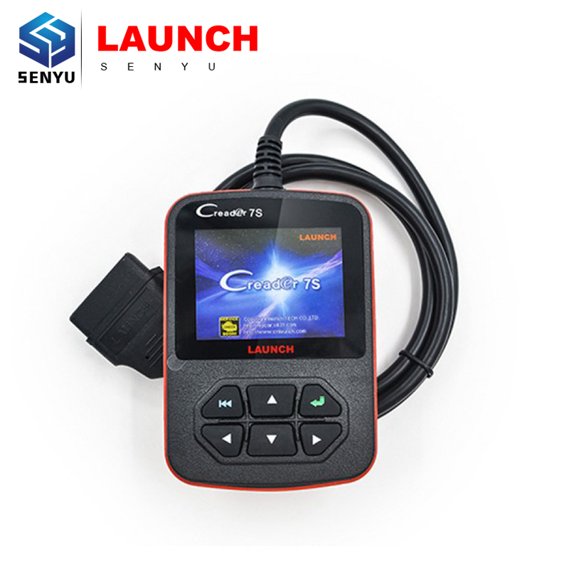 100% Original Launch X431 CReader 7S OBD II Code Reader and Oil Reset Diagnostic Tool Creader 7S Plus Update Online(China (Mainland))