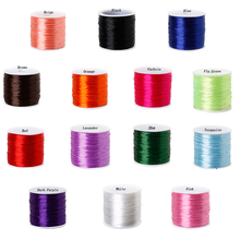 60m 0.7mm Colorful Stretchy Elastic Cords Crystal String Wire For Jewelry Making Beading Bracelet Wire Fishing Thread Rope DIY(China)