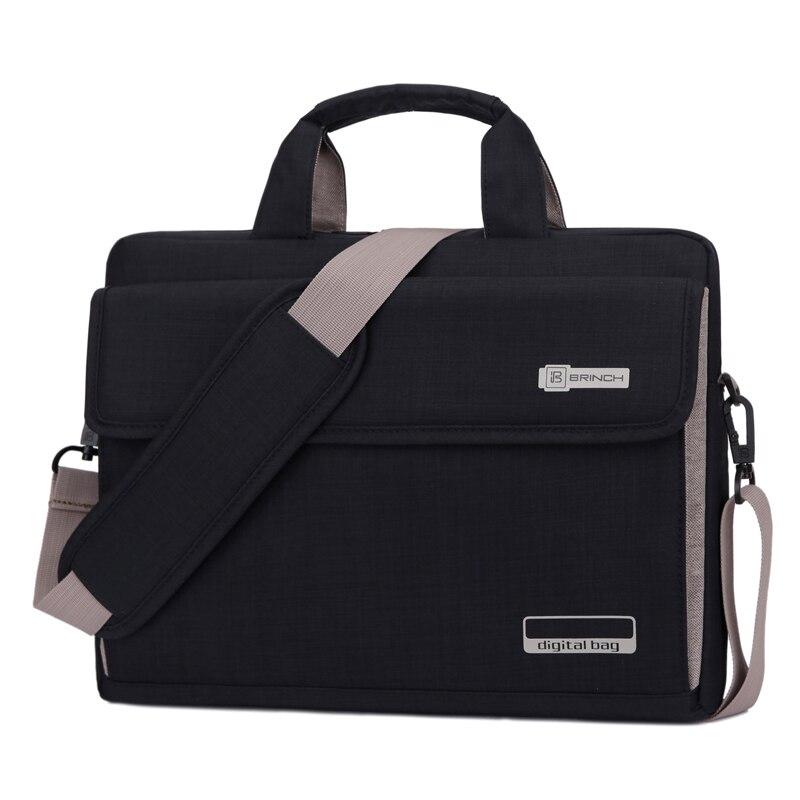 13.3 14.115.415.6Big Capacity black Notebook Messenger Pouch Laptop Computer Shoulder Handle Bag for macbook pro air retina<br><br>Aliexpress