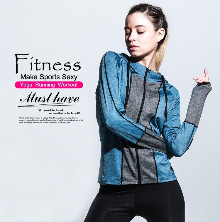 Fitness Jacket Zipper