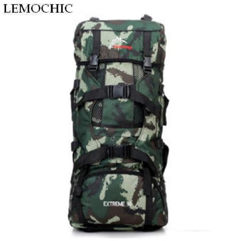 Super large capacity 70l outdoor mountaineering travel hiking Sports Camping backpack High quality Climbing man rucksack bag<br><br>Aliexpress