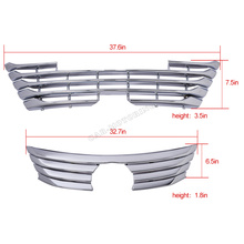 ABS car front bumper grill grille for Lexus RX450 RX200T 2016 without camera version bumper