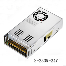 DC 24V Led Driver SMPS 24V 10A 250W Switching Power Supply Driver for LED Strip AC 100V 110V 120V/220V 230V 240V Input to DC 24V(China)