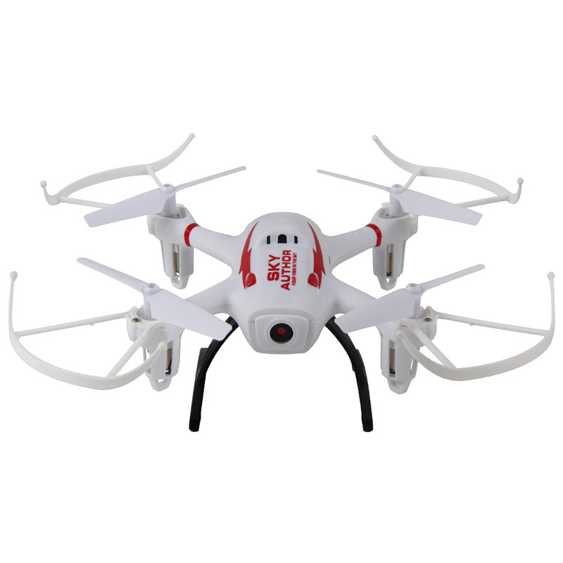 2017 New Model Sky Author 1343 WIFI FPV RC Quadcopter 2.4G air attitude hold hover 3D roll RC Aircraft Drone with 720P Camera