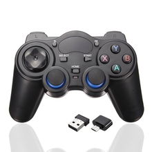 New 2.4GHz Wireless Controller Joystick Gamepad PC For Android TV Box PC GPD XD Computer Game Controllers With USB Receiver