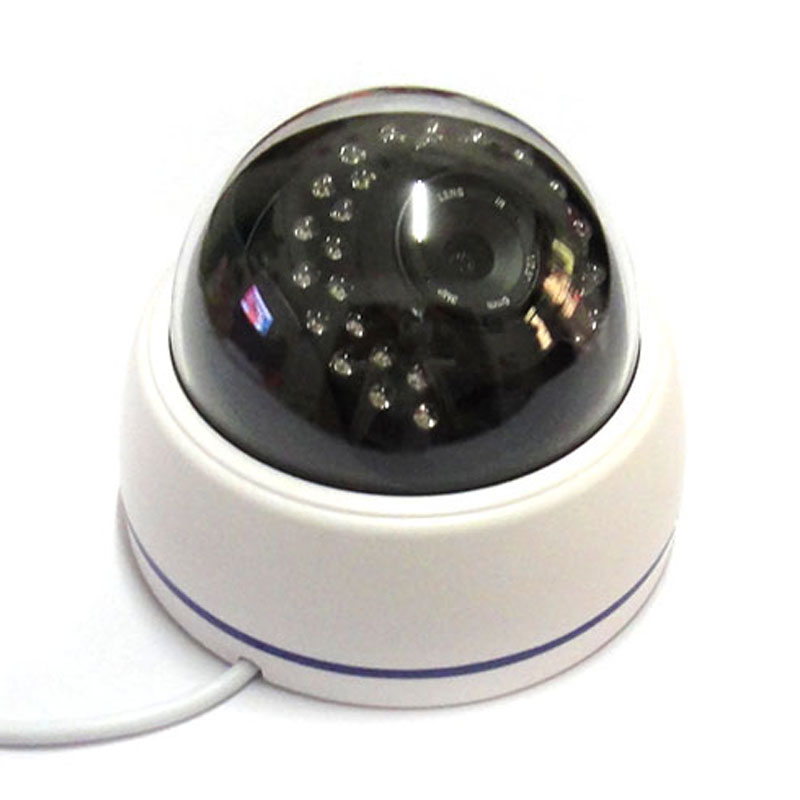 1.3mp HD CCTV POE IP Network Camera Dome Indoor Security 960p ONVIF H.264 P2P, 30IR Leds 3mp CS Lens<br>