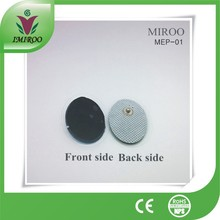 Free Shipping 50 pairs or 100pcs /lot  medical tens acupuncture digital electrode pads,snap electrode pads, CE&ROHS certificates