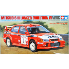 1/24 Scale Plastic Model Car Kit Lancer Evolution VI WRC Tamiya 24220 1:24 Car Model Kit plastic model kit model hobby