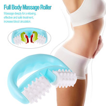 Handheld Anti Cellulite Leg Waist Shoulder Body Back Slimming Massager Cell Roller Massage Wheel Slender Shaper Fat Control Tool(China)