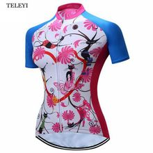 2017 teleyi ciclismo jersey mujeres bike cycling clothing camisetas deportivas de ciclismo ropa ciclismo
