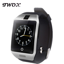 TWOX Bluetooth Smart Health Watch Apro Q18 Touch Screen 8GB TF card Video Camera SIM for Android/IOS phone pk GT08 DZ09 clock