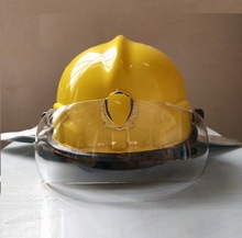 Korean rescue fire helmet protective anti smashing flame retardant safety helmet