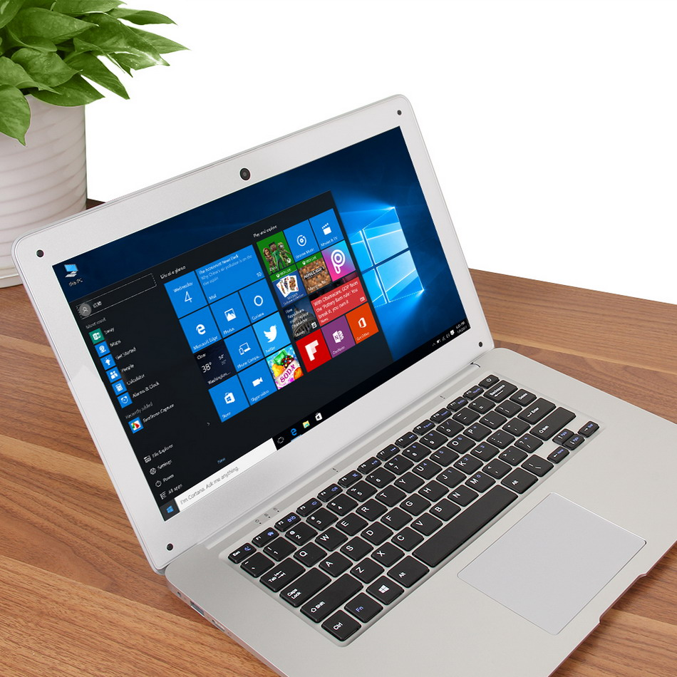 Jumper EZbook 2 A14 Laptop 14.1 Inch Windows 10 Ultrabook 1920 x 1080 FHD Display Intel Cherry Trail Quad Core Z8300 4GB RAM 64GB eMMC ROM Bluetooth Ultraslim Notebook Computer (5)