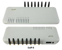 GoIP 8 ports gsm gateway/voip sip gateway/IP GSM Gateway/ GoIP8 VoIP GSM Gateway support SIP/H.323 -sales Promotion