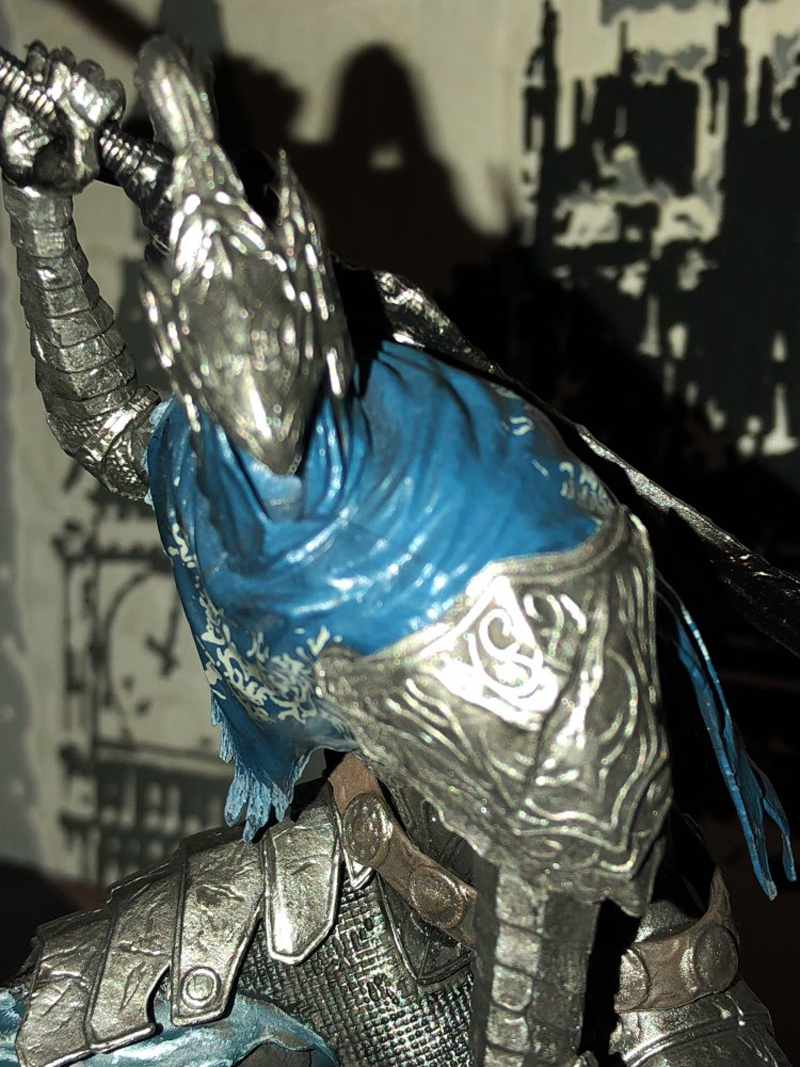 18cm Game Dark Souls Faraam Knight Artorias The Abysswalker PVC Action Figure Collectible Model Toy 2 Styles (11)