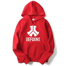 New Fashion Rushed Defqon.1 Rock Band Winter Bomber Jackets Coats Casual Cotton Mens Hoodies And Sweatshirts Hip Hop Size XXL(China)