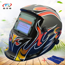 welder mask Manufacturer price Automatic welding mask Battery Replaced auto Darkening Welding Helmet Mask Solar HD05(2233FF)GB(China)