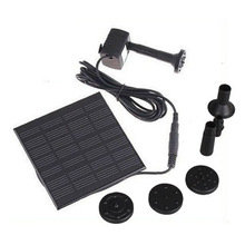 Solar Pump For Water Cycle/Pond Fountain/Rockery Fountain, H4009, freeshipping Wholesale(China)