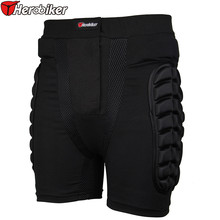 HEROBIKER Men Women Kids Motocross Shorts snowboard body Racing Skiing Motorcycle Short Trousers Protector Pads Gear Moto(China)