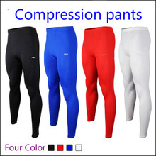 Sports mens compression pants skinny basketball&football leggings running tights fitness gym clothing training pants 2016 New