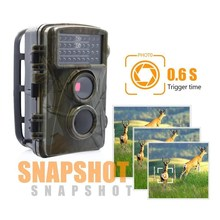 Hunting Trail Game Camera black infrared Scouting Cameras 8MP 720P IP66 Waterproof hunter cam for outdoor trap photo wildlife