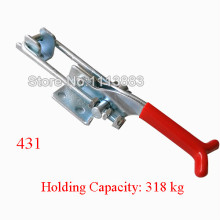 5PCS 318KG 701LBS Quick Release Latch Type Toggle Clamp 431