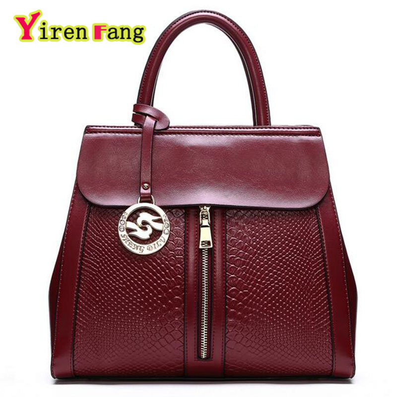 Genuine Leather Bags For Women Bags Handbags Women Famous Brands Alligator Luxury Handbags Women Bags Designer Ladies Hand Bags<br><br>Aliexpress