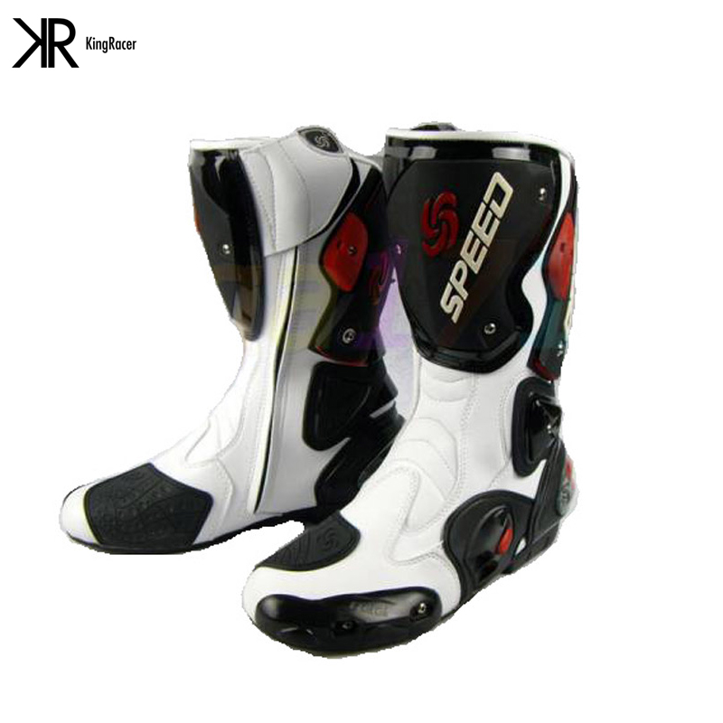 Boots for Motorcycle Fashion Motorcycle Boots RIDING TRIBE Moto Racing Boots Protective Gear Motocross Leather Long Shoes B1001<br><br>Aliexpress
