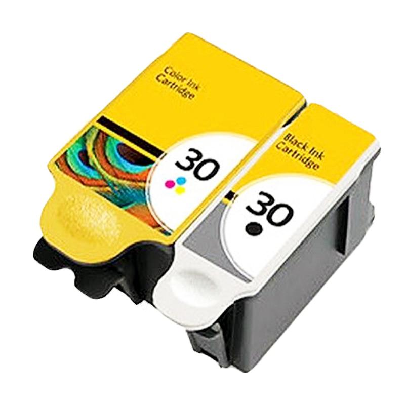 1 Set compatible KODAK 30 xl ink cartridge for KODAK ESP C100 , ESP C300 , ESP 3.2 , ESP Office 2100 Series<br><br>Aliexpress