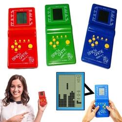 Новая классическая ручная игровая машина игра «тетрис» Детская игровая машина игрушка с воспроизведением музыки без аккумулятора