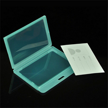 Transparent Id Card holder Exhibition Staff Cards men's id porte badge holderbusiness case Plastic chest name id cards cover(China)