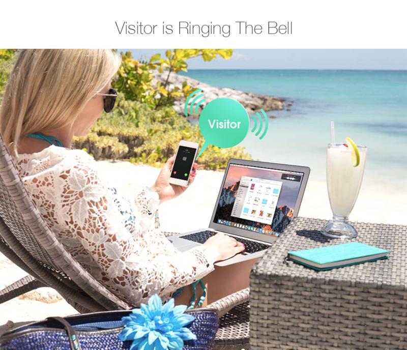Digoo SB-XYZ Wireless Bluetooth and WIFI Smart Home HD Video DoorBell Phone Ring Door Bell Smart Home Remote Control