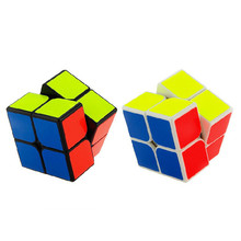 Cubo Magico 2x2x2 Professional Racing Puzzle Cube Children Educational Puzzle Toys Kubus Magic Rubiks Cube Timer Manyetik Top