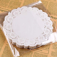 50Pcs 16.5CM/6.5inch White Round Lace Paper Doilies/Doyleys,Vintage Coasters /Placemat Craft Wedding Christmas Table Decoration