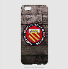 FC united of manchester cases For iPhone 6 6S Plus 5S 5C 4S iPod Touch 6 5 4 For Samsung Galaxy S7 S6 Edge Pus S5 S4 S3 mini S2