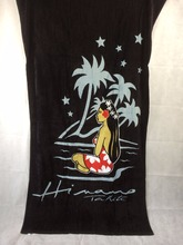 2016 New Summer Fashion Large Cotton Sexy Lady Beach Towels Black Bath Towel Serviette De Plage