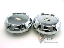 Rhino Tuning 4PC 64mm Silver Auto Styling Wheel Centre Center Hubs Caps Car Emblem # C-243 13272