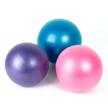 25cm Mini Yoga Pilates Ball Physical Fitness ball for fitness Appliance Exercise balance Ball home trainer balance pods