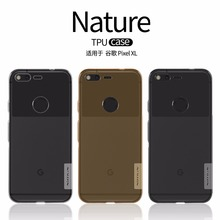 NILLKIN Ultra Thin Transparent Nature TPU Case For HTC Google pixel/pixel XL Clear TPU Soft Back cover case with package