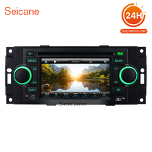 Seicane Car Radio DVD Player For 2002-2010 Chrysler PT Cruiser Chrysler Sebring GPS Navigation Wince system bluetooth Dual-zone(China)